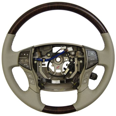 toyota steering wheel 2011 2012 toyota avalon steering wheel grey leather w