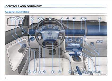 download car manuals 1996 volkswagen passat instrument cluster excerpt volkswagen passat owner s manual 1999 bentley publishers repair manuals and