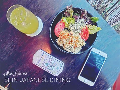 Dress Konbawa shinixfood ishin japanese dining shini lola