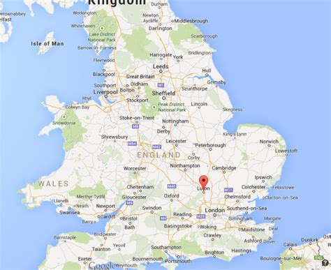 where is on the map image gallery luton