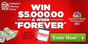 Www Pch Com Final Activation Code Pc829 - your last chance to win 5 000 a week quot forever quot pch blog