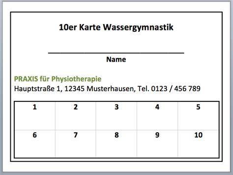 Word Vorlage Kündigung Zeitschriften Abo Kostenlos 10er Karte Wassergymnastik Word Vorlage Convictorius