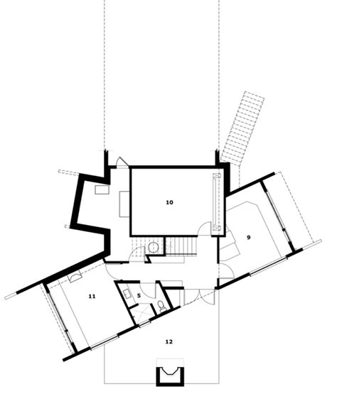home design for rectangular plot hogares frescos volum 233 trica casa contempor 225 nea con vistas a la costa de la isla de san juan