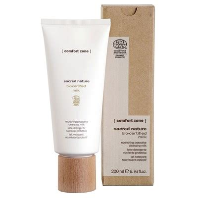 comfort zone products sacred nature cleansing milk tester
