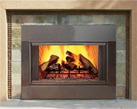 majestic sb series wood burning outdoor fireplace insert