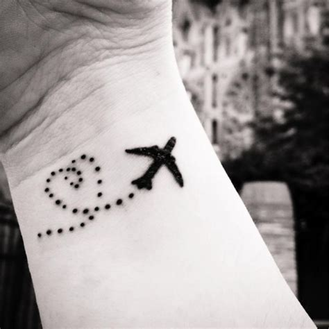 aviation tattoo best 25 airplane tattoos ideas on airplane