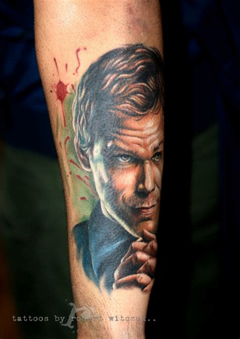 dexter tattoo robert witczuk certified artist
