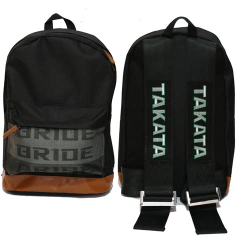backpack harness streetfx motorsport and graphics takata harness backpack black