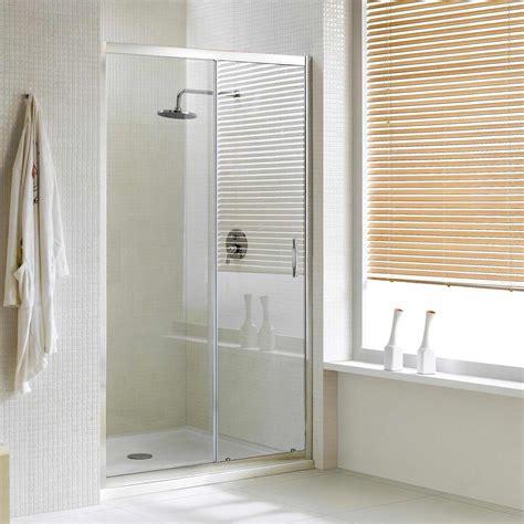 porta cabina doccia porta doccia un anta scorrevole per nicchia h198 cristallo