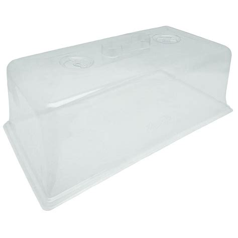 viagrow clear plastic dome 20 pack vtd300 20 the