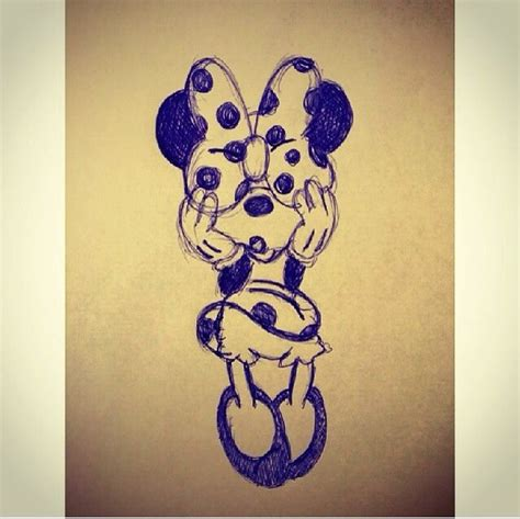 minnie mouse hair designs he was trying to know cute minnie mouse illustration designs art pinterest