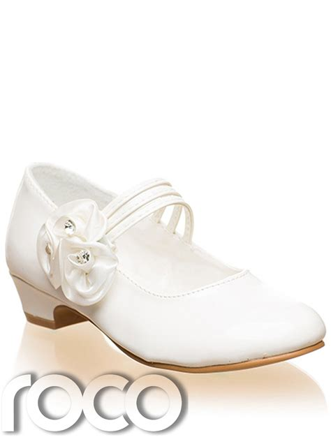 flower ivory shoes ivory shoes communion shoes prom shoes flower