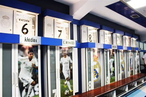 locker room store 8 scenarios where the santiago bernabeu in madrid is worth a visit the travelling squid