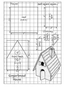 gingerbread house plans gingerbread house template paper crafts