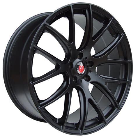 The Alloy Of axe cs lite alloy wheels in black