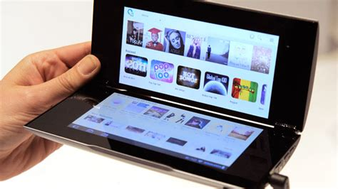 Sony Tablet P Indonesia sony tablet p review two screens better than one abc news