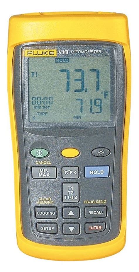 Best Seller Fluke 54 Ii B Dual Input Digital Thermometer With Data fluke 50 series ii 54 dual input datalogging thermocouple thermometer from davis instruments