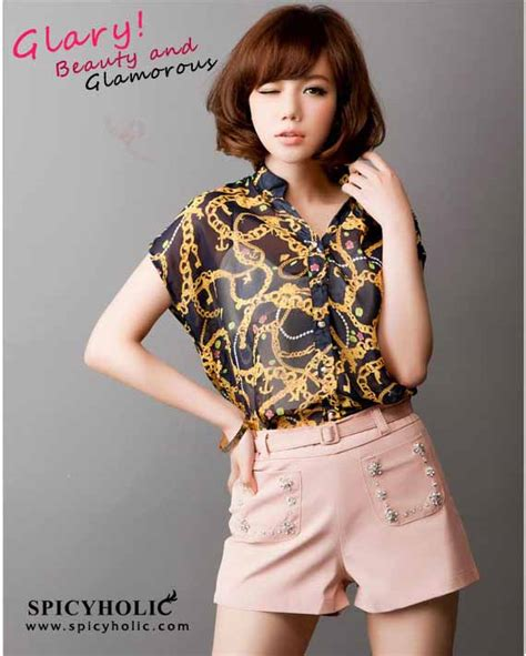 Pusat Grosir Murah Baju Crisan Printings Dress blouse korea murah lace henley blouse