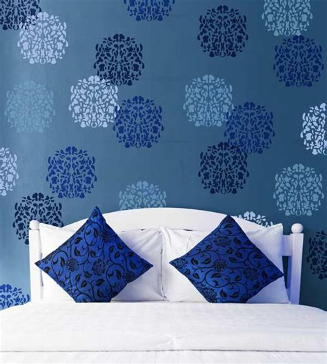 floral st wall stencil pattern royal design studio