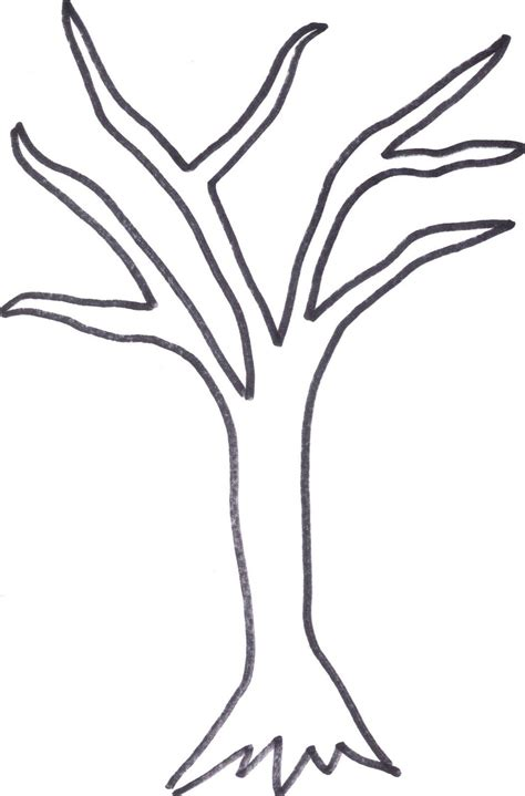diy   valentine coin cards tree trunk drawing tree