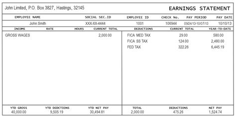free paycheck stub template sle of pay stub information instant pay stub