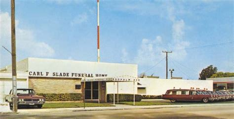 1960 s carl f slade funeral home at 800 palm avenue