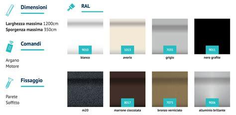 colori tende da sole prezzi e offerte tende da sole a bracci su barra quadra