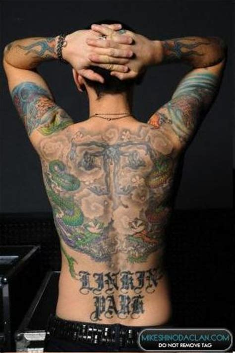 tattoo chester chester tattoos linkin park pinterest chester