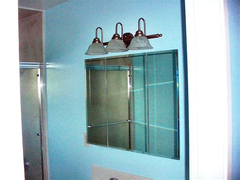 convert medicine cabinet to shelving recessed bathroom storage cabinet wonderful image collections