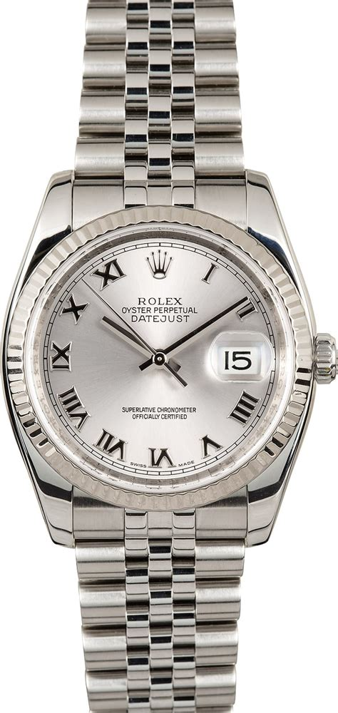 Rolex Oyster Perpetual Date Just Glw rolex oyster datejust 116234rrj steel