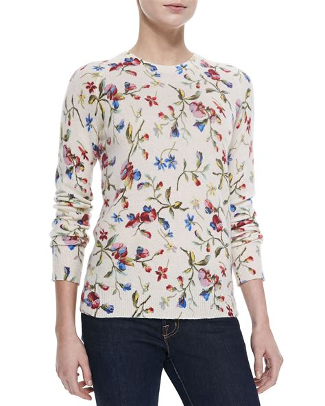Print Sweater equipment sloane floral print sweater in floral