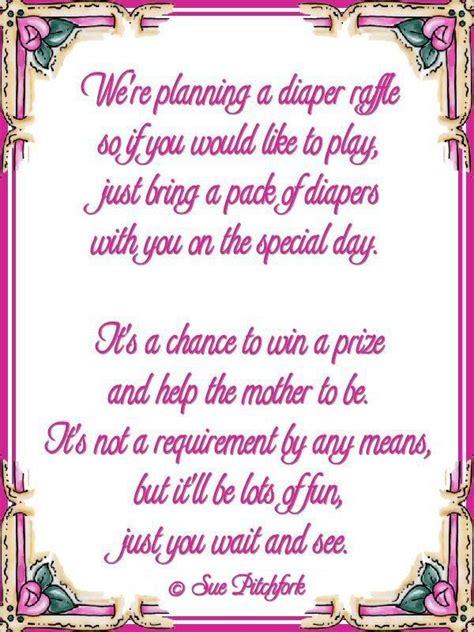 Gift Card Baby Shower Poem - diaper raffle poem on pinterest diaper raffle diaper raffle tickets and camo