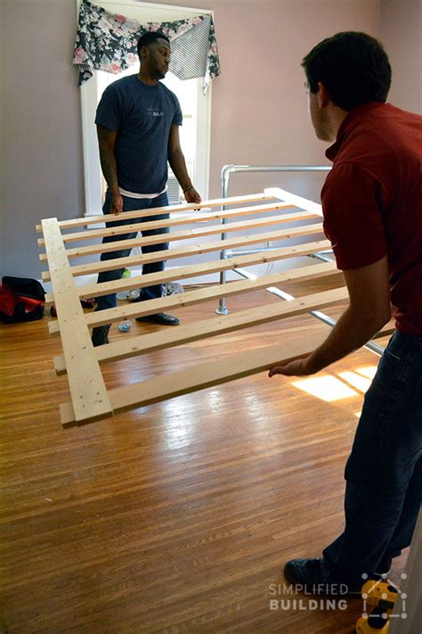 make your own industrial beds to rev your bedroom the build your own industrial bed simplified building