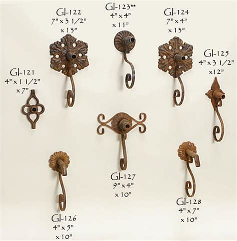 decorative rustic iron spout display water spouts
