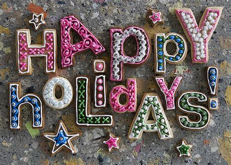 image gallery happy holidays sign