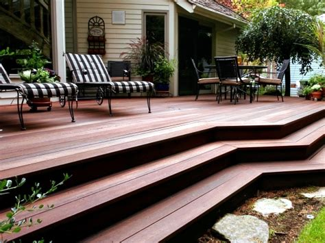 Bangkirai Wood Terrace ? 20 great ideas for garden design