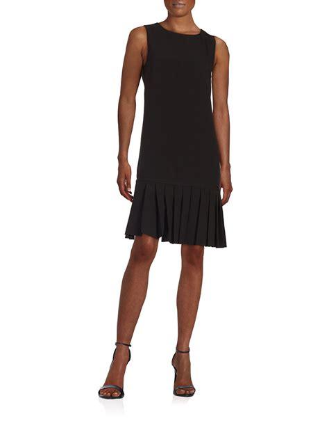 Zarazephyros Grey Dropped Waist Dress karl lagerfeld pleated drop waist dress in gray lyst