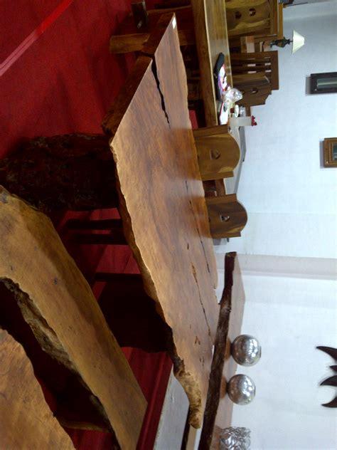 Meja Kayu Kelengkeng meja kelengkeng solid dan alami 2mx1mx9cm crown