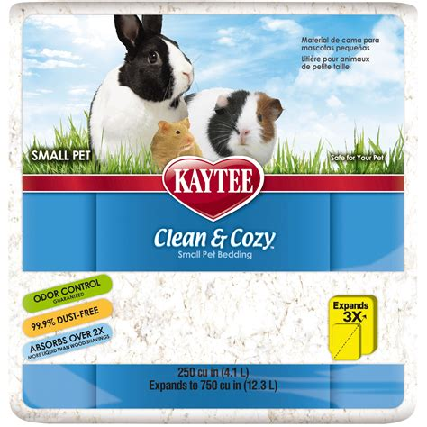 kaytee clean and cozy bedding clean cozy bedding white kaytee
