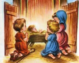 baby jesus in the stable nativity wallpaper picture of
