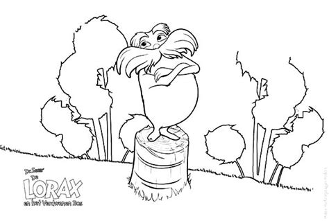 The Lorax Coloring Pages The Lorax Coloring Pages Dr Seuss The Lorax Coloring Pages