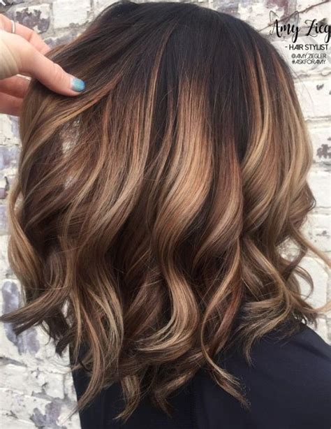 balayage medium length hair pictures to pin on pinterest best 25 shoulder length balayage ideas on pinterest