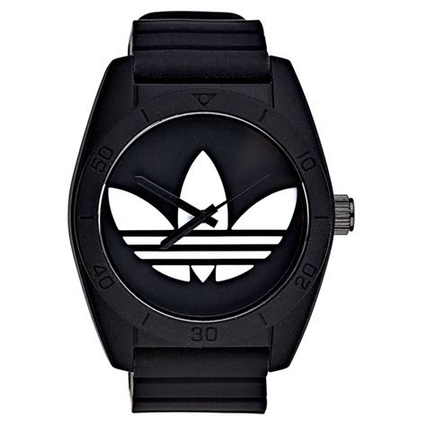 Black Unisex adidas black unisex santiago adidas from bdazzled jewellers uk