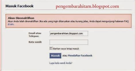 membuka akun gmail yang terkunci cara membuka akun fb yang dinonaktifkan terbaru 2015