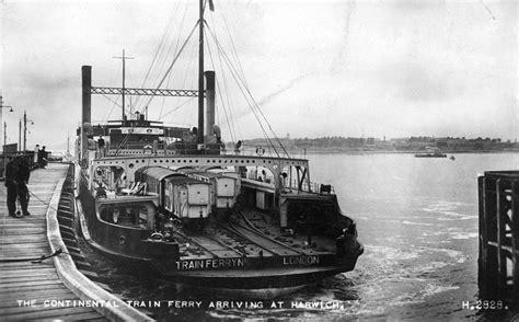 boat train english channel train ferry service harwich dovercourt history