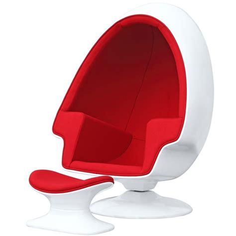 egg shaped desk chair alpha egg chair and ottoman