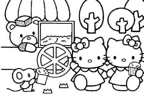 imagenes de kitty para imprimir y colorear hello kitty para colorear 01 dibujos para colorear