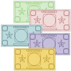 play money template 1000 ideas about play money on disney money