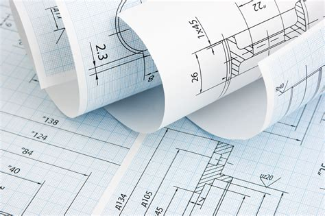 furniture technical drawings
