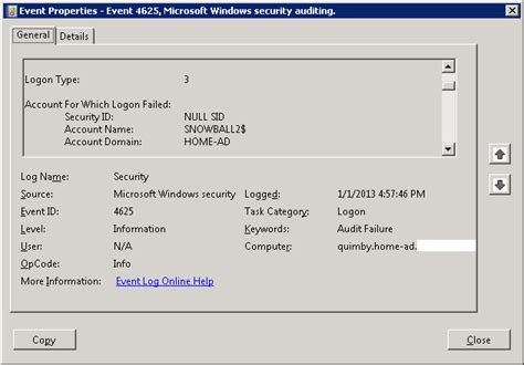 Windows Password Reset Event Id | fixing a windows pc that fell off the domain with netdom